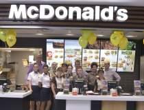 McDonald`s inaugureaza al...