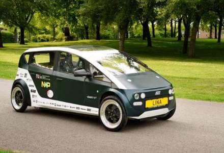 Lina este prima masina biodegradabila din lume. Ce materiale s-au folosit la constructia ei?
