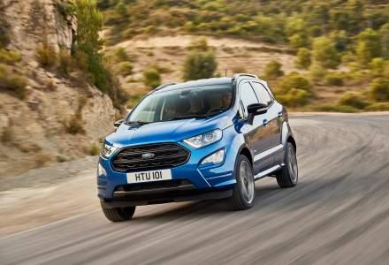 Ford a dezvaluit noul SUV subcompact Ford EcoSport, care va fi fabricat la Craiova
