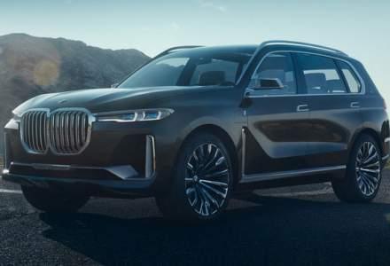 BMW X7 iPerformance Concept: primele imagini cu cel mai mare SUV BMW au aparut pe internet inainte de lansare