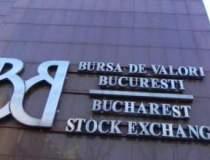 Bursa scade pe un rulaj modest
