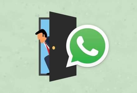 WhatsApp te va lasa sa stergi mesajele jenante pe care le-ai trimis
