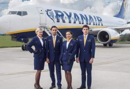 Ryanair anuleaza 40-50 de zboruri pe zi pentru ca pilotii si stewardesele trebuie sa primeasca concediu