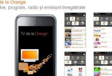 Orange lanseaza o aplicatie pe smartphone pentru a urmari programe TV