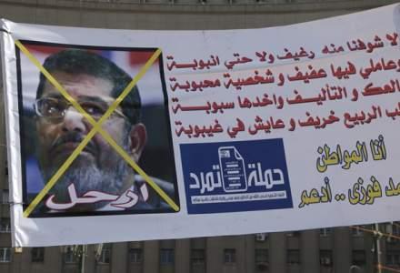 Mohammed Morsi, condamnat definitiv la 25 de ani de inchisoare pentru spionaj in favoarea Qatarului