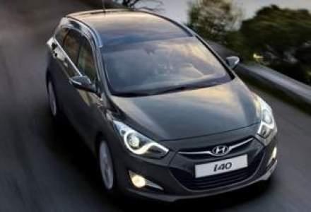 Noul Hyundai i40 este disponibil pe piata locala