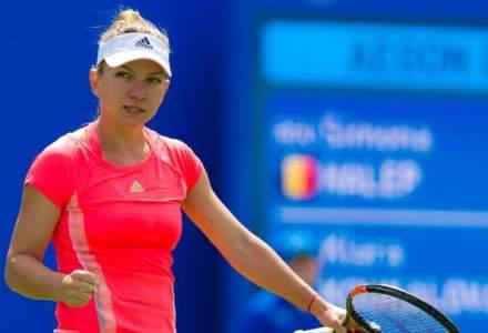 Simona Halep joaca, marti, in turul doi la simplu la Wuhan si in primul tur la dublu