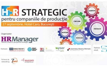 HR Strategic pentru companiile de productie 2017