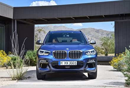 Noul BMW X3 va debuta pe piata din Romania pe 11 noiembrie