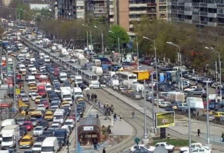 Bucuresti-Ilfov, regiunea cu cele mai proaste servicii de transport din Romania
