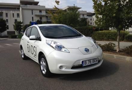 Nissan Leaf, test drive cu o masina electrica japoneza