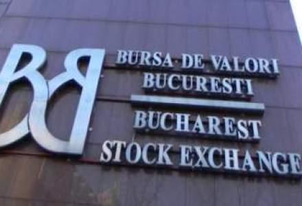 Bursa a stagnat in prima sedinta, cresterea fiind oprita de actiunile BRD