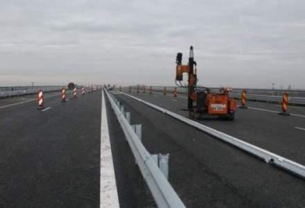 Lucrari pe Autostrada Soarelui, in zona Drajna