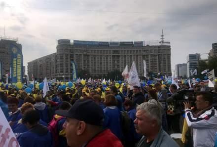 Cel mai mare protest al bugetarilor, impotriva PSD: Ce ii nemultumeste