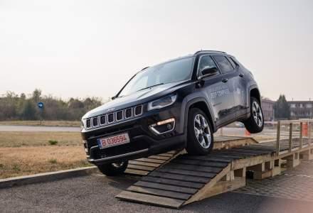 Jeep a lansat in Romania SUV-ul Compass. Costa de la 23.300 euro cu TVA