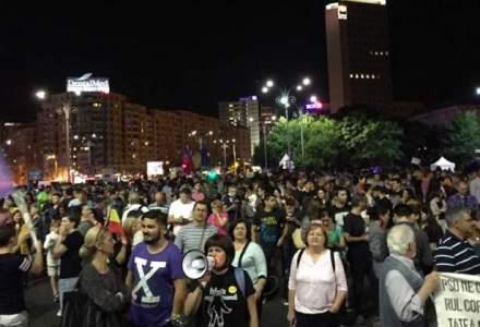 AMENZI ABUZIVE: Jandarmii au incalcat legea amendand protestatari