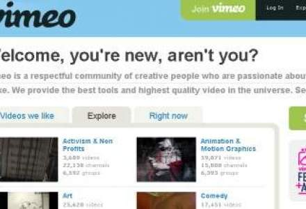 Vimeo lanseaza aplicatii pentru Android si Windows Phone