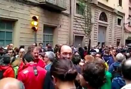 Manifestatii la Madrid si in alte orase: de ce au iesit in strada mii de oameni