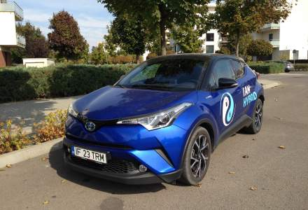 Toyota C-HR hibrid, consum de 6,5 l/100 km in oras cu un motor pe benzina - test drive
