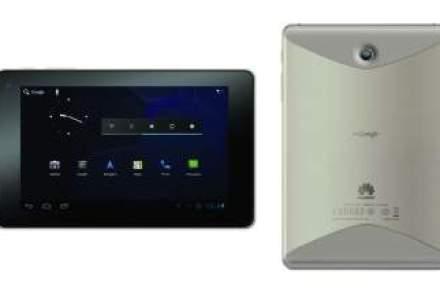 CES: Huawei lanseaza una dintre primele tablete care ruleaza pe Android 4.0