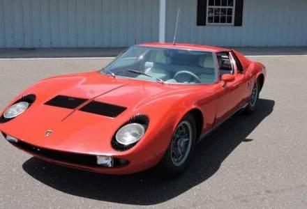 Scos dupa 46 de ani din garaj, un Lamborghini Miura P400 S se vinde cu o suma impresionanta!