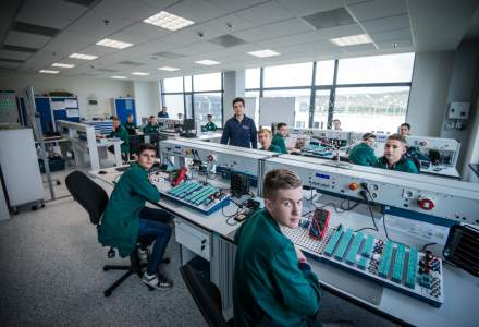 Bosch a investit 6 mil. euro intr-un centru de training la Cluj