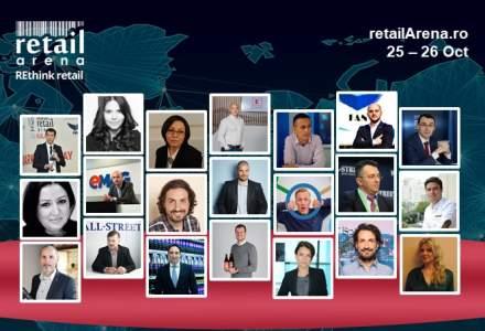 Prima zi la RetailArena 2017: 15 speakeri, 2 studii, workshop interactiv, discutii si speech-uri inspirationale