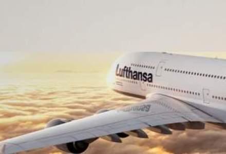 Lufthansa a avut un numar record de pasageri in 2011