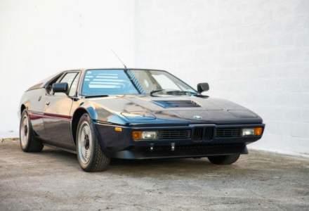 Un model BMW M1 din 1981, scos la vanzare pentru o suma impresionanta