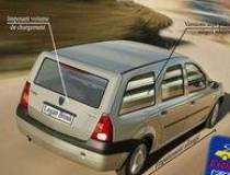 Dacia Logan, sub lupa Vestului
