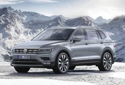 Volkswagen Tiguan Allspace este disponibil in Romania