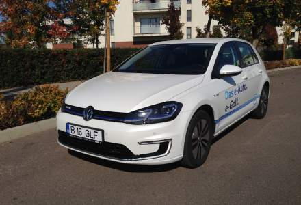 Volkswagen e-Golf, cel mai discret model 100% electric de pe piata - test drive