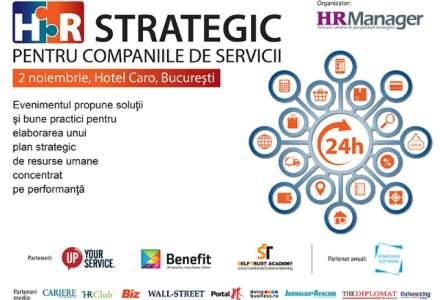 (P) HR Strategic pentru Companiile de Servicii