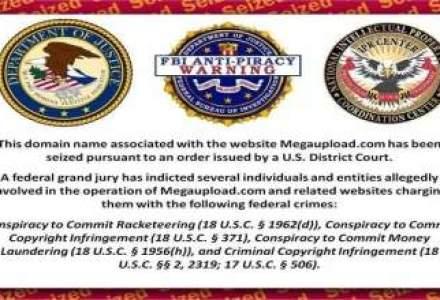 FBI a inchis Megaupload. Vedeti cum se razbuna hackerii Anonymous