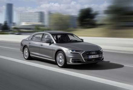 Noul Audi A8 poate fi comandat in Romania