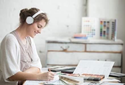 12 modalitati prin care muzica te face mai productiv la locul de munca