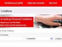 Vodafone lanseaza forumul...