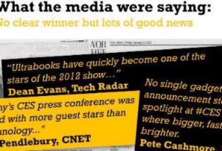 Cum s-a vazut CES 2012 in social media: 93,5% dintre utilizatori au vorbit despre eveniment pe microsite-uri