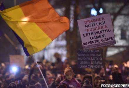 Mars de protest in Capitala: Daca se adopta legile pe justitie va fi dezastru in Romania