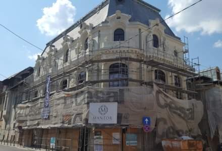 Mantor va executa lucrari de consolidare la cladirea istorica Mita Biciclista din Piata Amzei printr-o investitie de 4,5 mil. euro