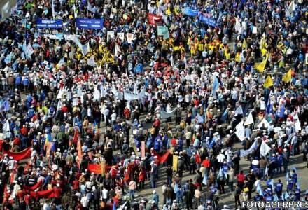 Greva generala in economie. CNSLR anunta declansarea protestelor