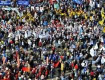 Zi de proteste in Bucuresti...