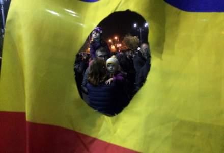 """""""Romania nu va vrea!"""": Cum se vad protestele """"la firul betonului"""" [FOTO]"""