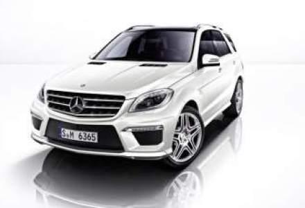 Versiunea de performanta AMG a noii generatii Mercedes ML vine in aprilie