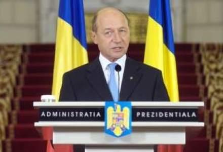 Basescu: Cel mai important mesaj primit este ramanerea Erste Bank in Romania
