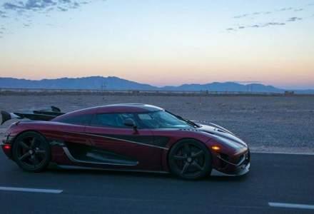 Koenigsegg Agera RS doboara un nou record de viteza