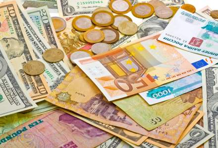 Cursul de schimb ramane intepenit la borna de 4,65 lei/euro, dar ROBOR urca la maximele ultimilor 3 ani