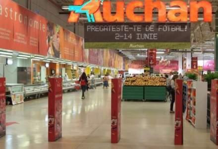Auchan anunta ca va mentine salariile nete ale celor aproximativ 10.000 de angajati