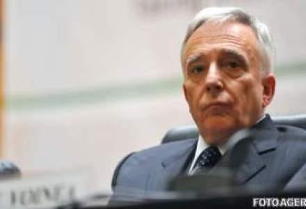 Isarescu a fost reales presedinte al Comitetului National pentru Stabilitate Financiara