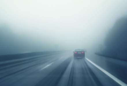 20 de judete, inclusiv drumurile nationale si europene aferente, sub atentionare de ceata si vizibilitate redusa